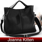 Ladies Retro Faux Leather Hobo Shoulder Tote Satchel Handbag Bag Large Designed
