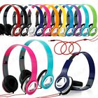 3.5mm Headphone Earphone Earbuds Headset Stereo iPhone iPod MP3 MP4 PC Tablet