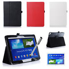 Folding Leather Case Cover for Samsung GALAXY Note10.1 2014 Edition Tablet Stock