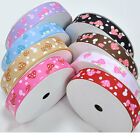 "5/50/100 yards 3/8"" 5/8"" 1"" 1.5"" mushroom sewing grosgrain ribbon scrapbooking"