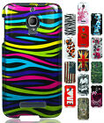 For Alcatel ONETOUCH Fierce Hard Protector Case Snap On Phone Cover Accessory