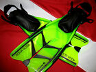 Snorkel Fins aquaglide snorkeling equipment travel fin adjustable watersport fun