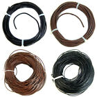 10M 100M Genuine Leather Cord Thread For Diy Bracelet Necklace Jewelry Making