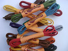 Waxed Shoe Laces Round Thin Dress Shoe Coloured Shoelaces 3mm Foot Rope
