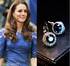 Princess Kate Middleton Party inspired jewelry 18K GP Zircon Earring