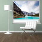 RB50 - MORAINE LAKE IN BANFF NATIONAL PARK CANADA PHOTO PRINTED ROLLER BLIND