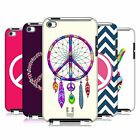 HEAD CASE DESIGNS PEACE EMBLEMS CASE COVER FOR APPLE iPOD TOUCH 4G 4TH GEN