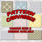 Pattern Canvas Prints - Great Value! Cool Wall Art Funky Decor Modern Designs