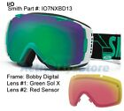 Smith Goggle I/O Interchangeable Optics w Extra Lens Goggles Snow Ski Snowboard