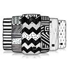 HEAD CASE BLACK AND WHITE DOODLE PATTERNS BACK CASE COVER FOR NOKIA ASHA 310