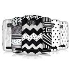 HEAD CASE DESIGNS BLACK AND WHITE DOODLE PATTERNS CASE COVER FOR NOKIA LUMIA 710