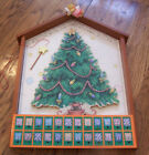 Cherished Teddies Advent Holiday Calendar Very Rare new in Box