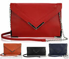 New Womens Ladies Designer Inspired Evening Bag Chains Clutch Bag Purse Handbag