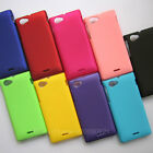 1 PCS New Shell Ultra-thin PC Hard Cover Skin Case For Sony Xperia J ST26i