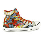 Adults Converse All Star Hi DC Comic Superman Trainers