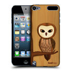 HEAD CASE DESIGNS WOOD CRAFT CASE COVER FOR APPLE iPOD TOUCH 5G 5TH GEN