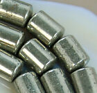 6x9mm Natural Pyrite Column Beads 15.5""