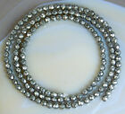3mm Faceted Natural Pyrite Round Beads 15.5""