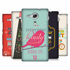 HEAD CASE DESIGNS CONFUCIUS HARD BACK CASE COVER FOR SONY XPERIA SP C5303