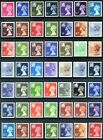 Regional Decimal Definitive Issues - Wales W13 - W60 ( Multiple Listing ) mnh