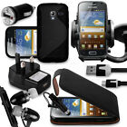 10 in 1 Bundle Accessory Kit Case Car Holder Charger For Samsung Galaxy Ace 2