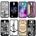 New Sleeping with Sirens Quote Hard Cover Case For Samsung Galaxy S4 i9500