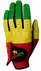 Asher Golf Gloves Premium Collection ONEGLOVE One Glove Rasta Rastafarian Qty=1