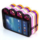 Design Ring Knuckles Hard Bumper Side Case Covers For Samsung Galaxy S4 i9500