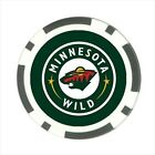 Minnesota Wild Hockey - Poker Chip Guard / Golf Ball Marker - FG5148