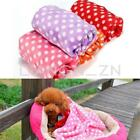 Pet Dog Cat Puppy Warm Mat Fleece Bed Blanket Quilt Cushion Pad Car Seat Cover