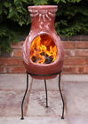 Mexican Clay Chimenea Fire Clay Chiminea Patio Heater Fire Bowl Barbeque Stove