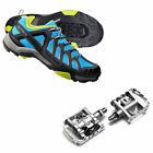 SHIMANO SH-MT34 SPD MTB BICYCLE SHOES + PD-M324 Multi-Purpose Pedals