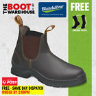 Blundstone 405 'Max Comfort' Work Boots. Elastic Sided, Lethaer, Non Safety.