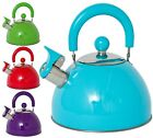 Retro Style 2.5l Whistling Kettle Boiling Cooking Electric Ceramic Gas Safe New