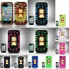 For iPhone 4/4s PC/SC Monkey 3D Design Cover Case