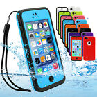 NEW Waterproof Dirtproof Heavy Duty Hard Case Cover - Apple iPhone 5C