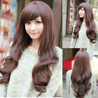 Hot New Sexy Cosplay Party Womens Fashion Long Wig Hair Full Wavy Curly Wigs