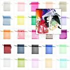 20Pcs Organza Gift Wedding Favor Bags Pouches Candy Wraps Jewelry Pouch 6 Size
