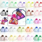 20/40/60/100pcs Organza Wedding Favour Jewellery Gift Bag Pouches Wholesale
