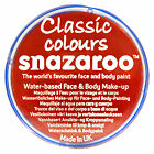 Snazaroo 18ml and 75ml BRIGHT RED FACE PAINT Fancy Dress Party Stage MakeUp