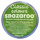 Snazaroo 18ml LIME GREEN FACE PAINT Fancy Dress Party Stage MakeUp