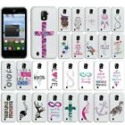 For ZTE Source N9511 Z796C Majesty Owl TPU SILICONE Soft Rubber Flexi Case Cover