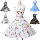 New Vintage Retro Swing Jive 1950's Prom Party Housewife pinup Dress