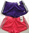 Adidas Climalite ED MESH Women's Striped Running / Training Shorts - VARIOUS
