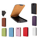 New ULTRA SLIM Magnetic Leather Flip Case Cover For Mobile Phone HTC Desire 300