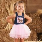 Mud Pie Wild Wild West Baby Girl Or Toddler Cowgirl Overall Dress Horse 1142105