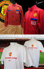 NEW Manchester United Football Tracksuit Jacket + FREE NIKE MU Tee Shirt