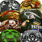 Do SweatBand Head Du Doo Rag Skull Biker Cap Hat Paisley Bandana Motorcycle Lot