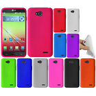 For LG Optimus L90 D405 D415 Color SILICONE Soft Gel Rubber Case Cover Accessory