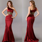 Ladies Long Slim Bridesmaid Evening Formal Party Ball Gown Homecoming Dresses